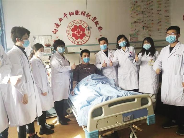 2021年甘肃省首例造血干细胞成功捐献