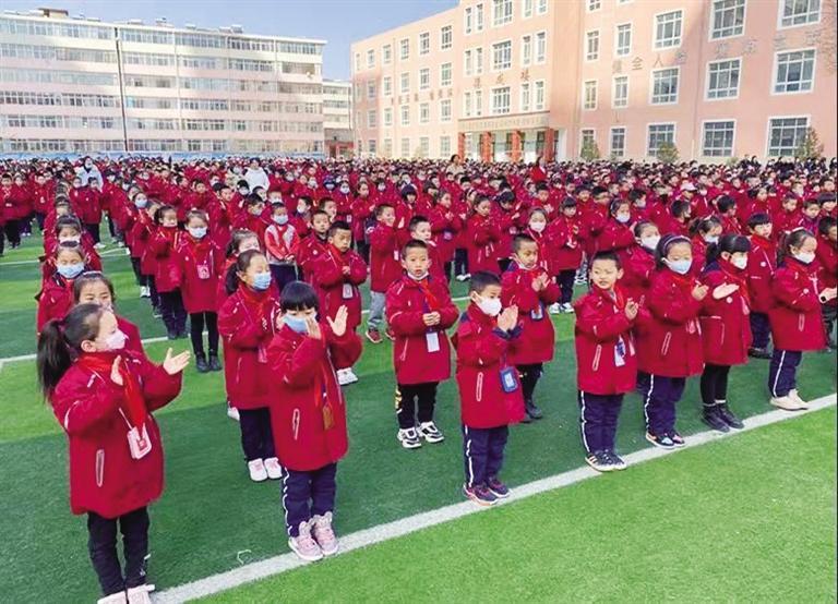 榆中县5万多名学生顺利返校
