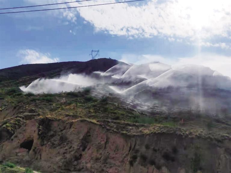 榆中县从八方面全力开展抗旱救灾